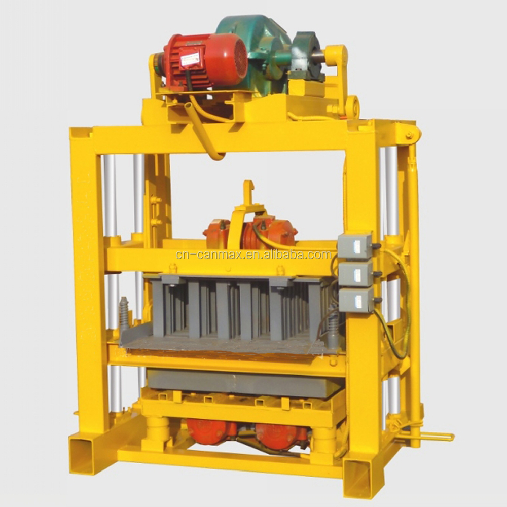 CHINA QT4-40 Construction Block Making Machine ,Color Paver Block Machine