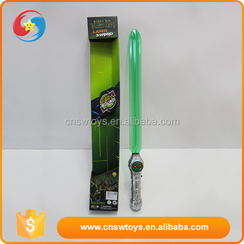 2016 Newest personality plastic latest fashion swords with light