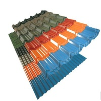 steel roof tile Roman type roofing building material corrugated metal roofing sheet
