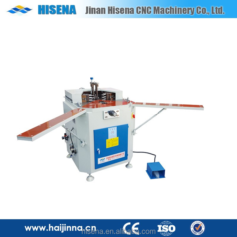 made in China good upvc windows and doors cutting making machine