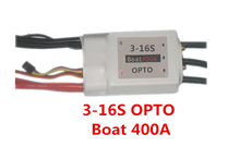 Reacher Tech 3-16s super HV Controller 400A ESC for marine