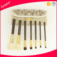 7pcs professional make up brushes supplier