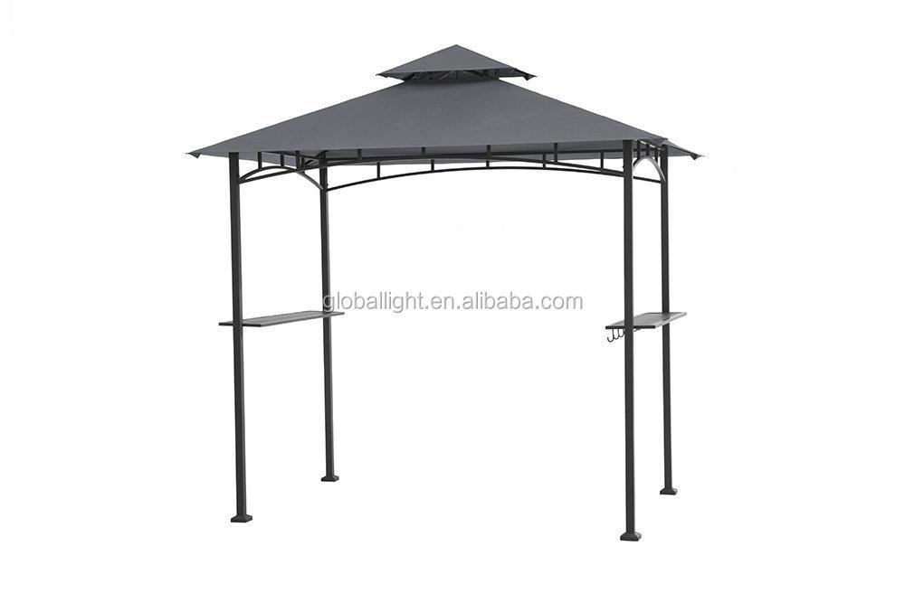 8 x 5 fu grill pavillon aus stahl pulverbeschichtet mit. Black Bedroom Furniture Sets. Home Design Ideas