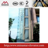 sightseeing elevator panoramic glass elevator glass panoramic elevator cabin