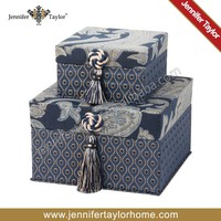 Creative Design Pattern Fabric Storage Box, Lidded Shelf-Storage Bin, Decorative Closet Organization