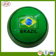 wholesale customized PVC Foam Rubber Bladder Promotional Soccer Ball Football