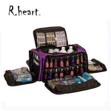 Beautcians and Manicurist Makeup Tool Bag Professional Travel Cosmetics Case in Glamour Design