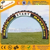 Cheap giant advertising inflatable tire arch F5023