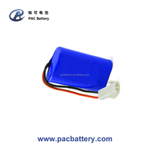 3.7V 5200mAh 1S2P Power Pack Lithium Rechargeable Battery with connector