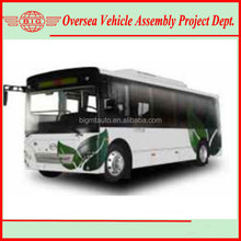 90KW 39 Seater Pure Electric City China Mini Bus Spare Parts