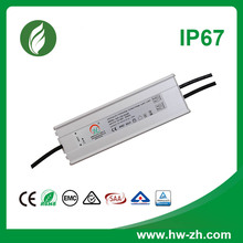 120w 24v IP67 waterproof constant current power supply led driver with CE and RoHS