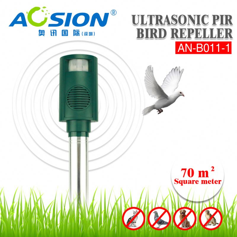 Aosion Automatic PIR Ultrasonic Frequency Conversion Durable animal control device