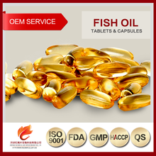 Supplements Manufacturer Blister Pack Fish Oil Capsules