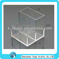 desk mobile storage cabinet file box,clear acrylic desk organizer,acrylic desk storage box
