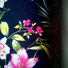 Cotton spandex twill fabric for lady's garment