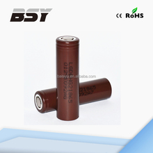 Best selling brown lg 18650 battery cells high amp lg hg2 3000mah 20amp LG Chem INR18650 HG2 100% original