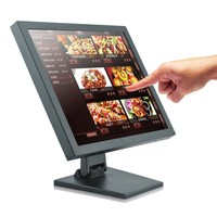15 inch industrial touch screen all in one pc / computer/ acrylic pc case (factory/manufactory )