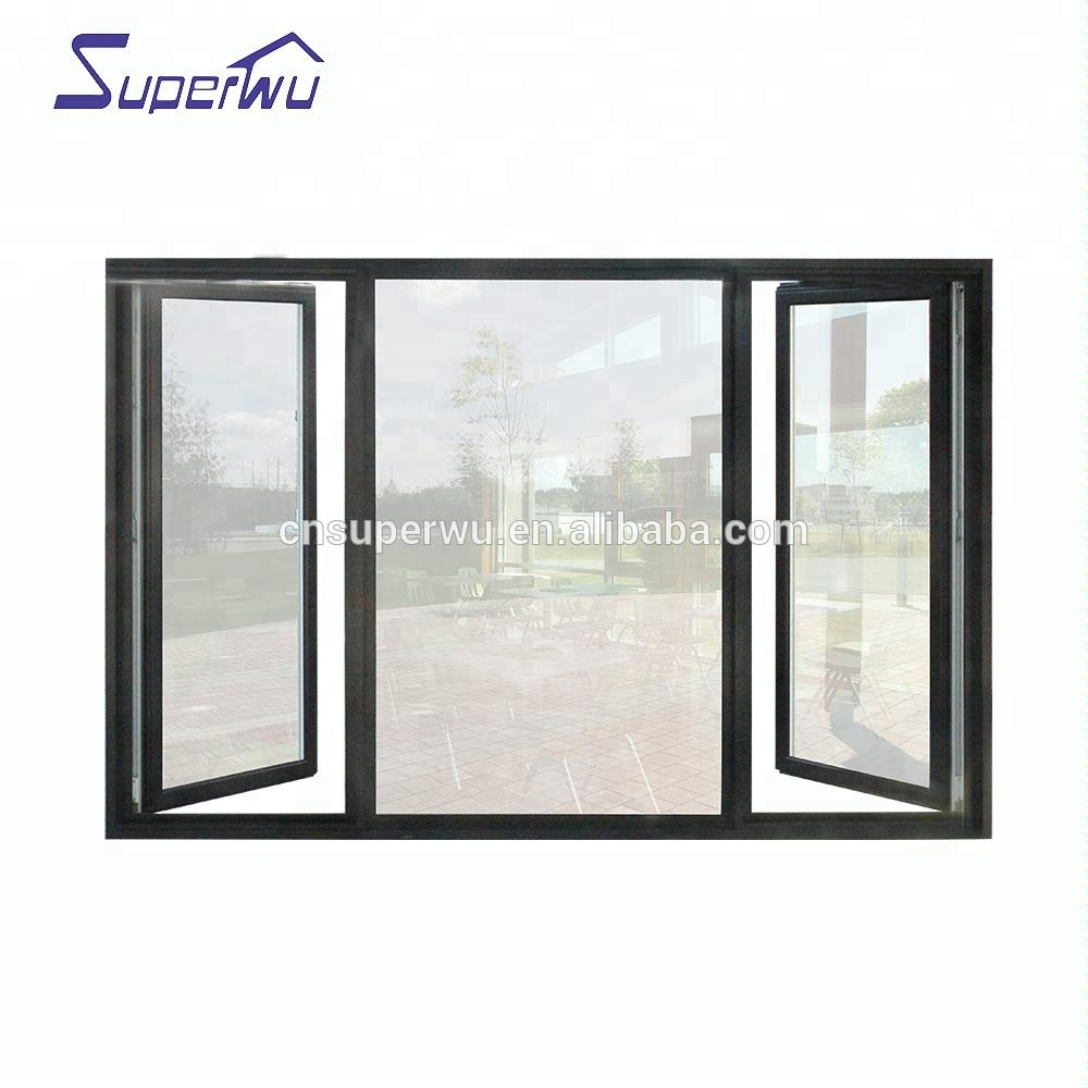 Australia standard AS2047 / CSA office safe aluminum glass window and door for pictures