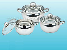 Promotion cookware/stainless steel cookware set/apple shaped cooware