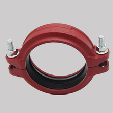 Grooves connection casting cast iron fire fighting pipe fitting