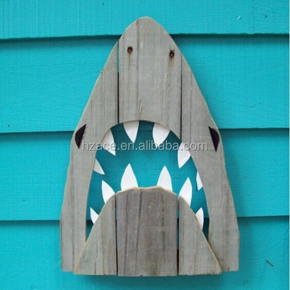 Shark Wall Art rustic wooden shark wall art - buy reclaimed wood wall art,famous