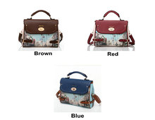 2014 hot selling stylish genuine leather brand handbags