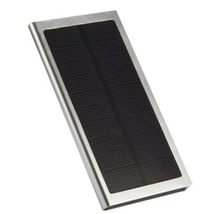 Solar power bank charger 20000mah Portable with 6 LED Panel Solar Camping Lights