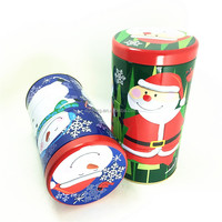 Advanced customization top quality aluminum metal tins 2015 newest christmas metal packing tin box