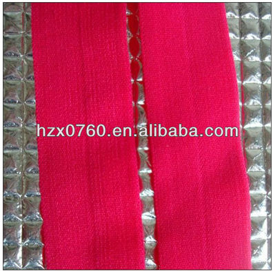 high quality for shoe elastic band/ soft nylon high quality jacquard elastic band for bags elastic tape