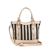 Canvas Strip Versatile Tote Bags Women China Wholesale fashion hand bag