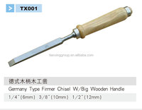 SDTX tianxing high quality wood flat chisel 1/4