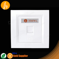 Dustproof Network Faceplate RJ45 from 10th Gold Supplier
