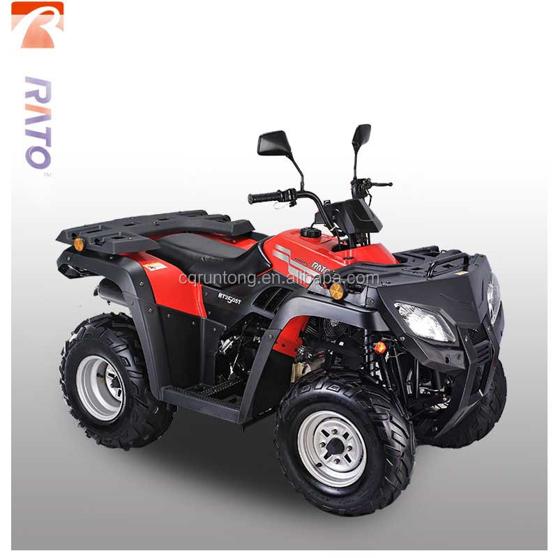cheap price and Chinese brand RATO RT250ST working 250cc air cooling vertical utility ATV for sale
