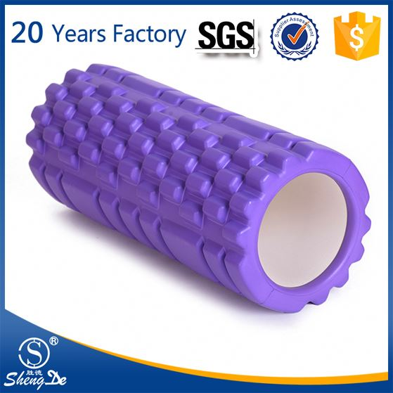 High Density EVA Solid Vibrating Foam Roller for Muscle Therapy