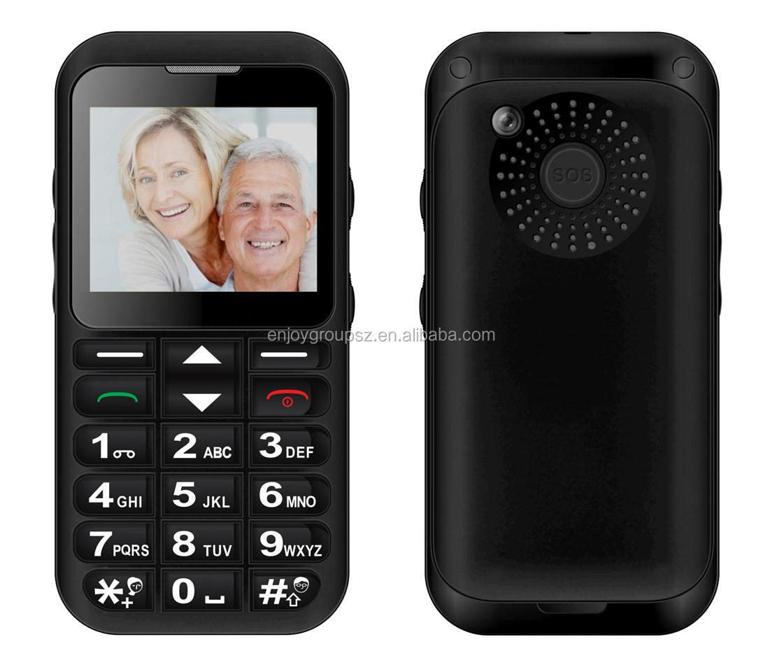 W23 Big Button with sos china shenzhen unlocked code senior mobile phone