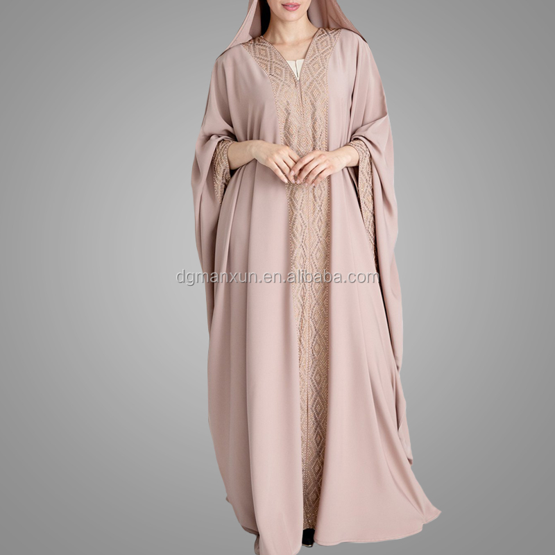 Plus Size Kaftan Dress Latest Burka Designs Pictures Front Open Islamic Clothing High End Moroccan Arab Loose Abaya
