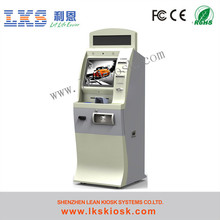 Parking Lot Kiosk With Coin Operator
