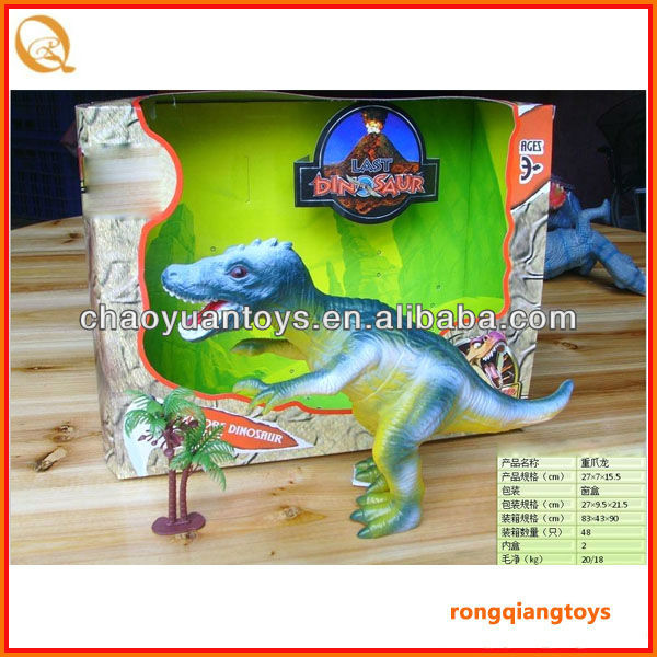 Hot sell style !! Vinyl walking dinosaur toy AN5456662