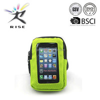 Outdoor cycling sports running wrist pouch mobile phone arm bag wallet