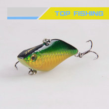 Fishing tackle artifical plastic hard lures, Sinking vibe, Bass hard bait, 70mm, 14g/ 70mm, 14g