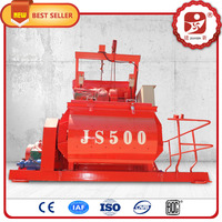 JS500 electric portable concrete mortar mixer for sale in India
