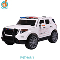 WDYH811 2017 NEW Baby Ride On, Kids Poli Car, SUV Fire Fighting Truck Alarm 2.4G R/C Double Door Open Bicycle Product