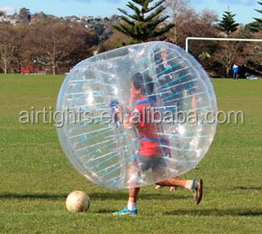 sports game toy good price inflatable bumper bubble ball adult or children bumper zorbs