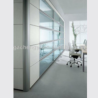 Aluminum frame hot sale 101 series office partition
