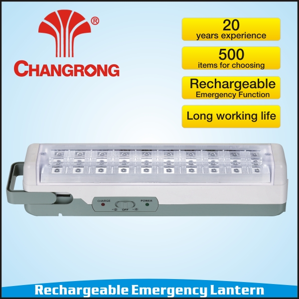 Emergency portable led search light with 30pls led