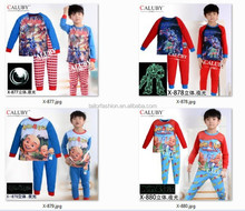 Upin&lpin kids pajamas wholesale transformer children pyjamas sleepwear boy luminous