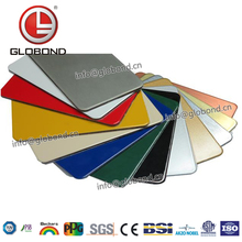 GLOBOND High Quality Modern Cheapest Building Materials Weatherboard Exterior Wood Metal Aluminum Wall Panel Cladding Price