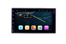 7 inch touch screen 2din universal gps bluetooth aux car radio cassette cd player