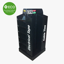 New Design Corrugated Pallet Displays for Belt Stand Display, Belt Display for Retail