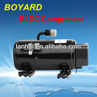 ev motor kit Automotive airconditioning compressor 12V/24V for mini air conditioner for car van cabin construction machineries